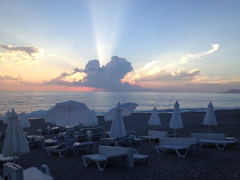 Turkey_Beach_Alanya_sunset
