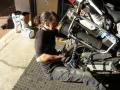 Anne fitting rear tyre